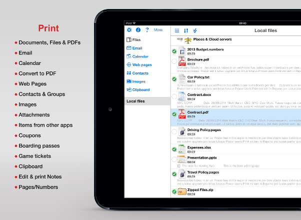 "Phone Printing - There's an App For That: ""Print n Share"""